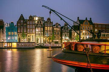 Aan de  Amsterdamse grachten...