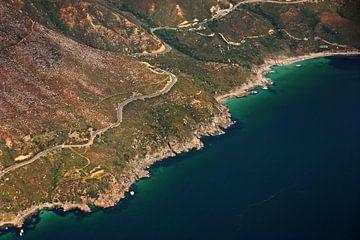 Cape peninsula aerial view VI van