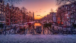Als het sneeuwt in Amsterdam van Georgios Kossieris