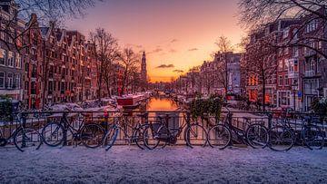 Wenn es in Amsterdam schneit von Georgios Kossieris