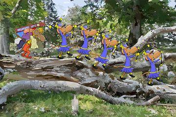 De verhuizers van HEUBEERE Cartoons