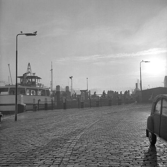 Veerpont Dordrecht - Papendrecht 1971 van Dordrecht van Vroeger