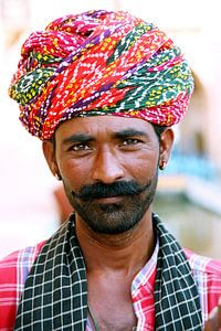 India - Rajasthan - Jaisalmer van