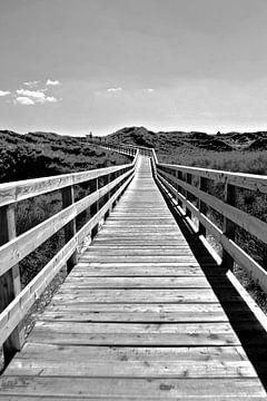 Sylt: promenade door de duinen van