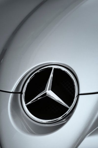 Mercedes SLR logo van Sjoerd van der Wal