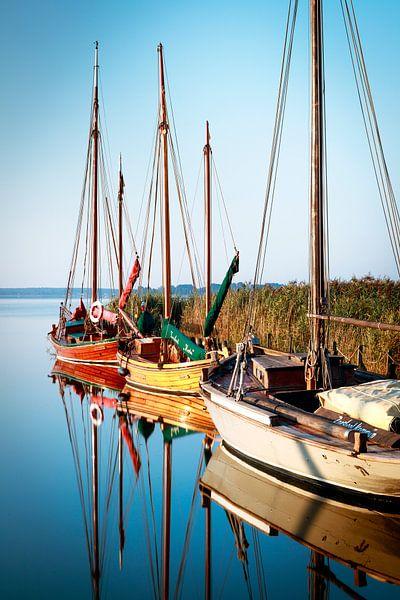 Boote im Hafen von Sascha Kilmer