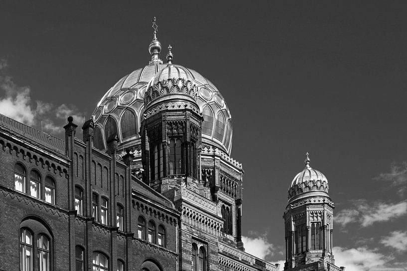 Nouvelle synagogue de Berlin (Oranienburger Strasse) sur Frank Herrmann