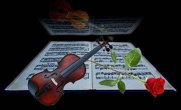 Weinig serenade van Gertrud Scheffler