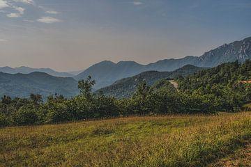 Landschap in Italie van Ivana Luijten