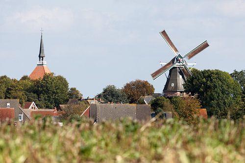 Kerk en molen