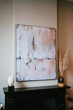 Klantfoto: Winter Textures van Maria Kitano, als print op doek