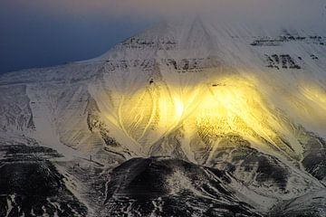 Hiortfjellet Svalbard von Kai Müller