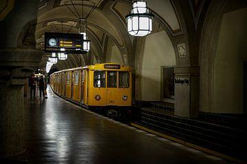 Berliner U-Bahn von Eus Driessen