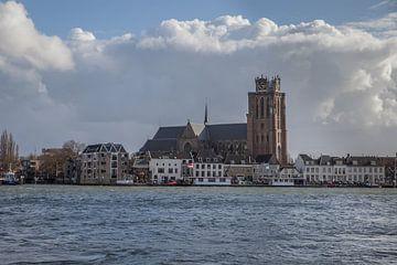 Dordrecht rivierzicht 5 van John Ouwens