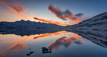 Hamarsfjordur reflections sur Wojciech Kruczynski
