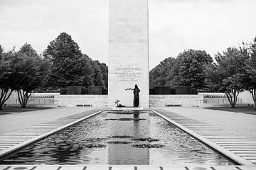 Amerikanischer Soldatenfriedhof Margraten von MSP Canvas