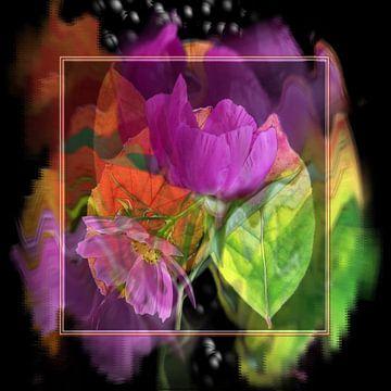 Bloemen ontwaken van