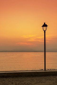 Eenvoud zonsondergang von Dorien Bunt