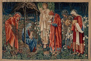 Edward Burne-Jones - Die Anbetung der Könige