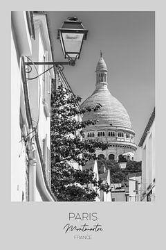 In beeld: PARIJS Montmartre van Melanie Viola
