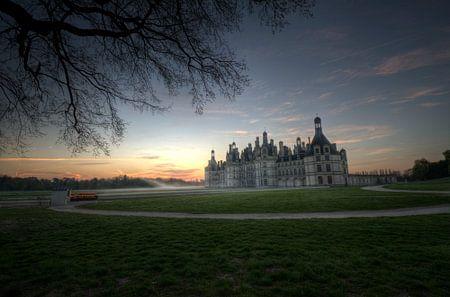Chambord Chateaux in het morgenlicht von Hans Kool