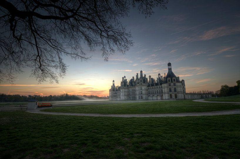 Chambord Chateaux in het morgenlicht van Hans Kool