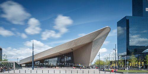 Het centraal station van Rotterdam van
