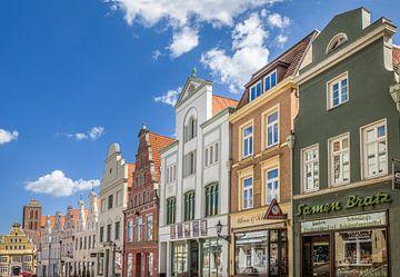 Altstadtstraße in Wismar, Mecklenburg-Vorpommern von Christian Müringer