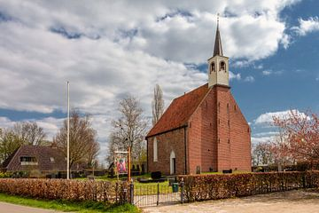 Kerk Lettelbert in de provincie Groningen van