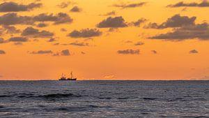 Vissersboot de Koog Texel van Marcel Koomen