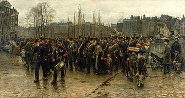 Der Transport der Kolonial-Soldaten, Isaac Israels von