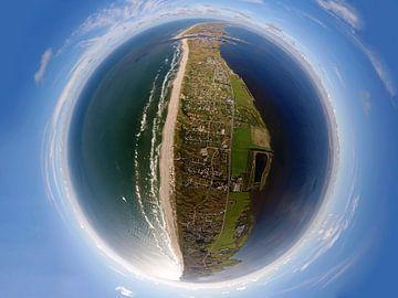 Dänemark, Hvide Sande - Panorama von rheinmain.from.above