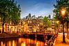 AMSTERDAM ' s avonds idylle aan de Singel van Melanie Viola thumbnail