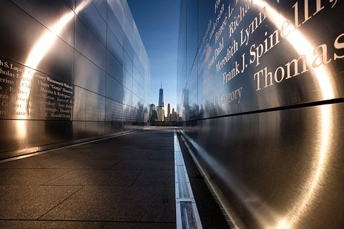 Emty Sky Memorial  New York van