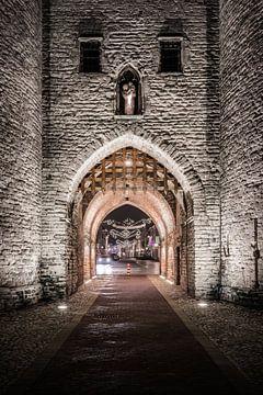La porte de la prison de Bergen op Zoom sur Rick van Geel
