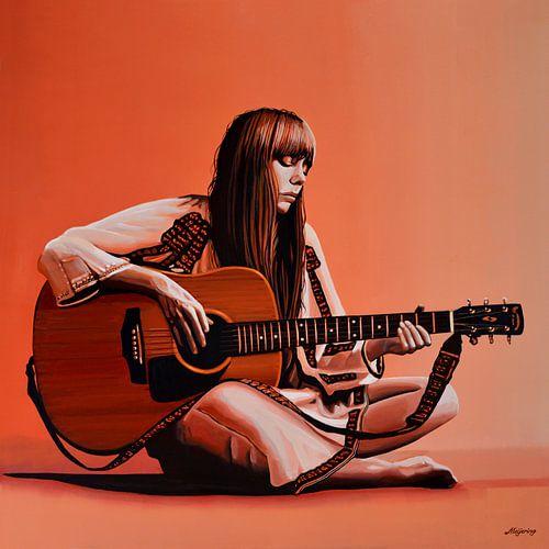 Joni Mitchell Schilderij