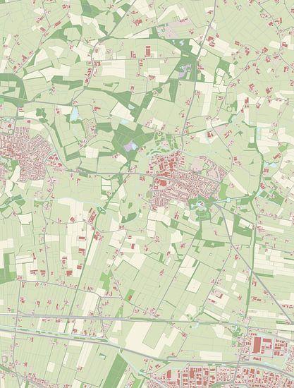 Kaart vanRenswoude