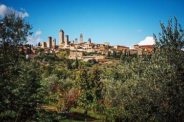 San Gimignano Skyline van Alexander Voss
