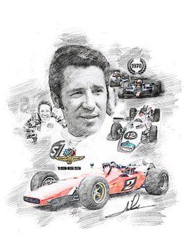 Mario Andretti von Theodor Decker