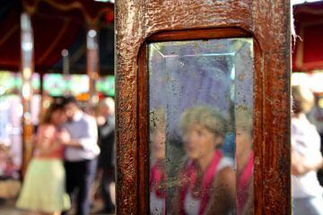 Tente miroir du salon de tango à Haarlem sur Marianna Pobedimova