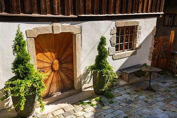 Oude voordeur van Peter Baier