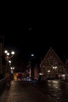 Bloedmaan in Gent von Marcel Derweduwen