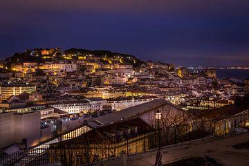 Alfama, Lissabon van Jens Korte