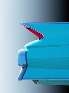 Amerikaanse klassieke auto 1961 Sedan Deville