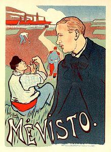 Vintage Poster for Mevisto. Henry Gabriel Ibels (1867-1936)