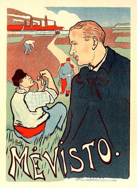 Vintage Poster for Mevisto. Henry Gabriel Ibels (1867-1936) van Liszt Collection