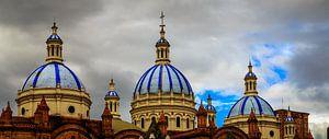 Kerktorens in Ecuador van