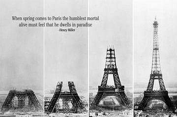 Eiffeltoren  van Didden Art