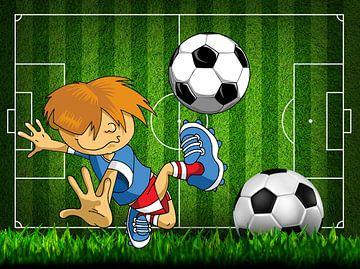 Fußballspieler von Henny Hagenaars