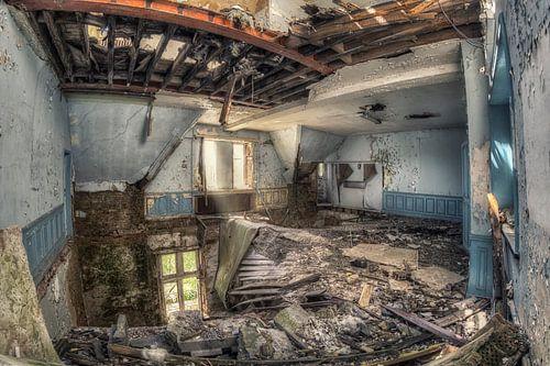 Verlaten plaats - Ongegronde van Carina Buchspies